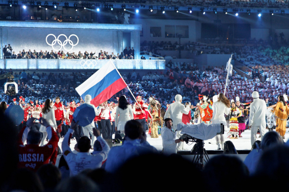 Russia banned from all major sports events for four years