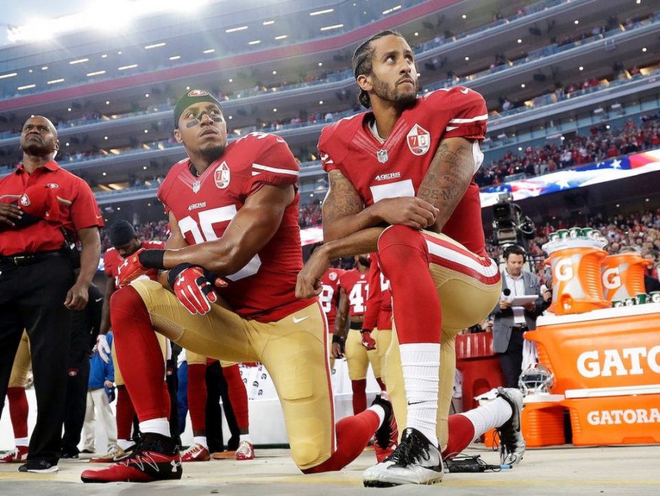 NFL Commissioner says he would encourage a team to sign quarterback Colin Kaepernick