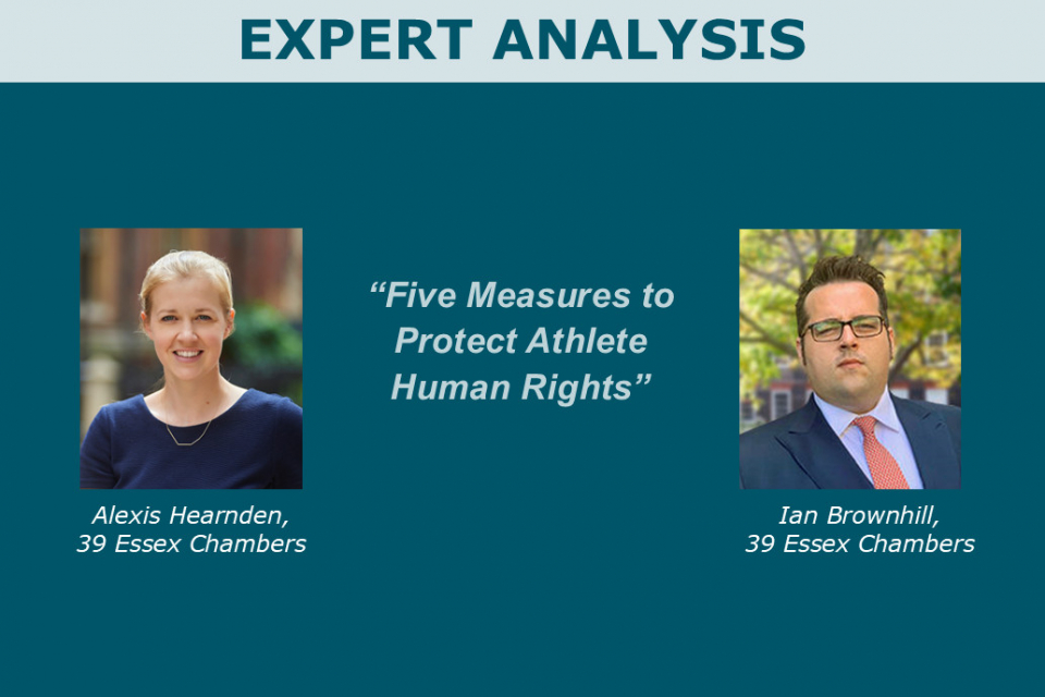 Five Measures to Protect Athlete Human Rights