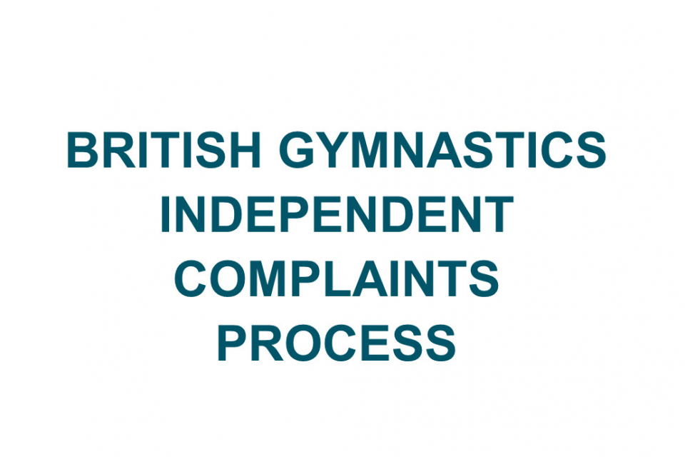 Sport Resolutions to assist British Gymnastics with Independent Complaints Process
