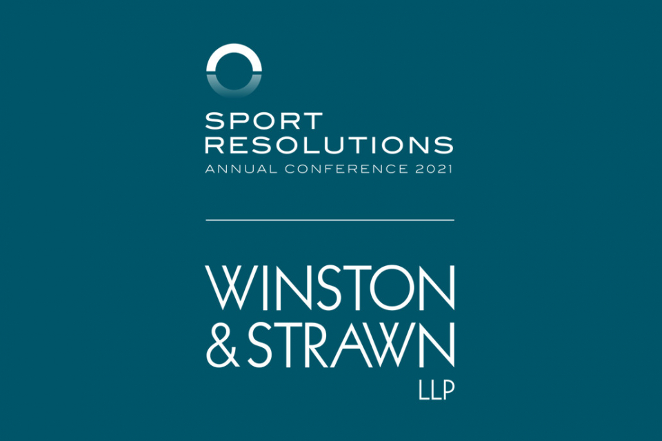 Sport Resolutions Virtual Annual Conference 2021 Sponsorship Announcement