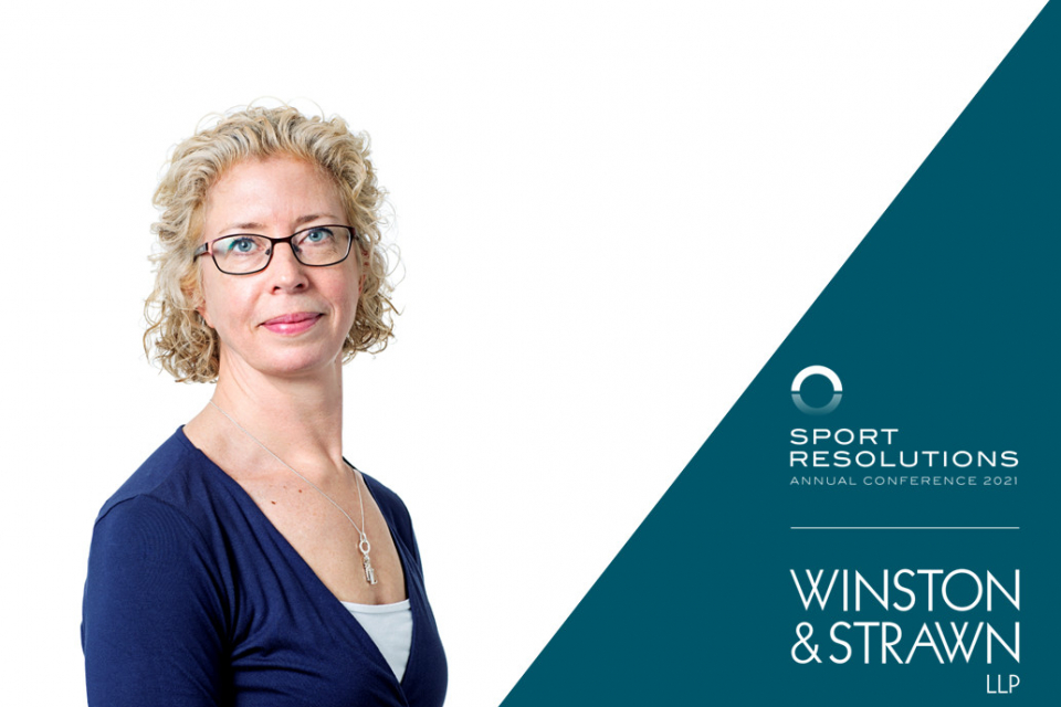 Speaker Announcement | Sport Resolutions Virtual Conference 2021 in association with Winston & Strawn LLP