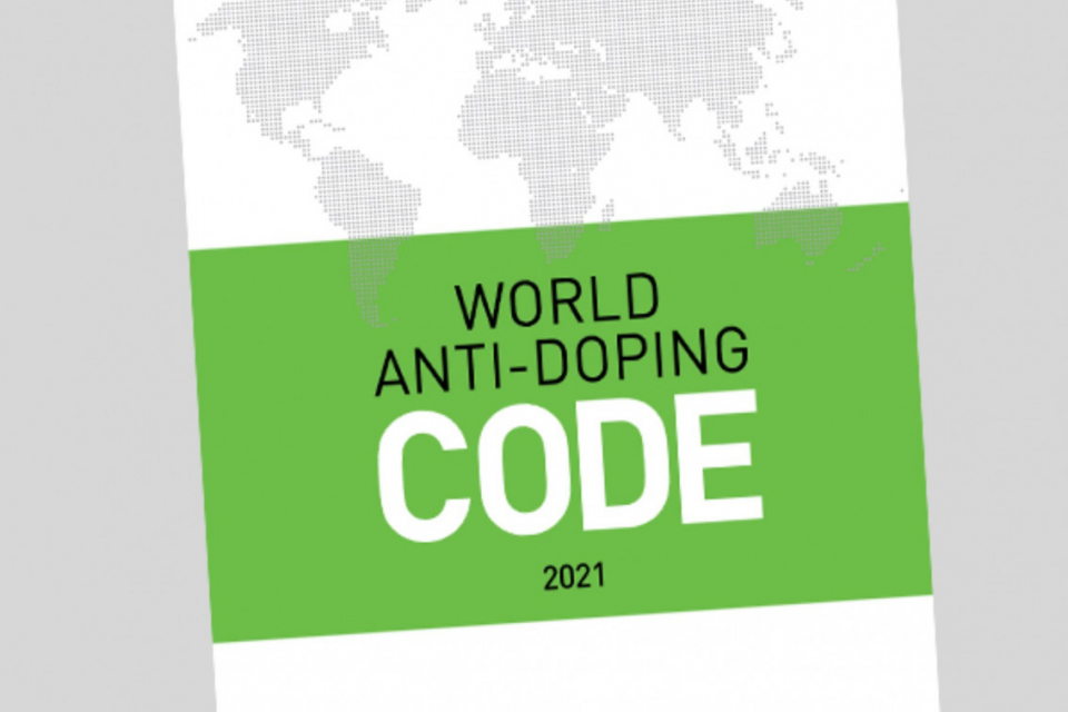 World Anti-Doping Agency publishes final version of 2021 World Anti-Doping Code