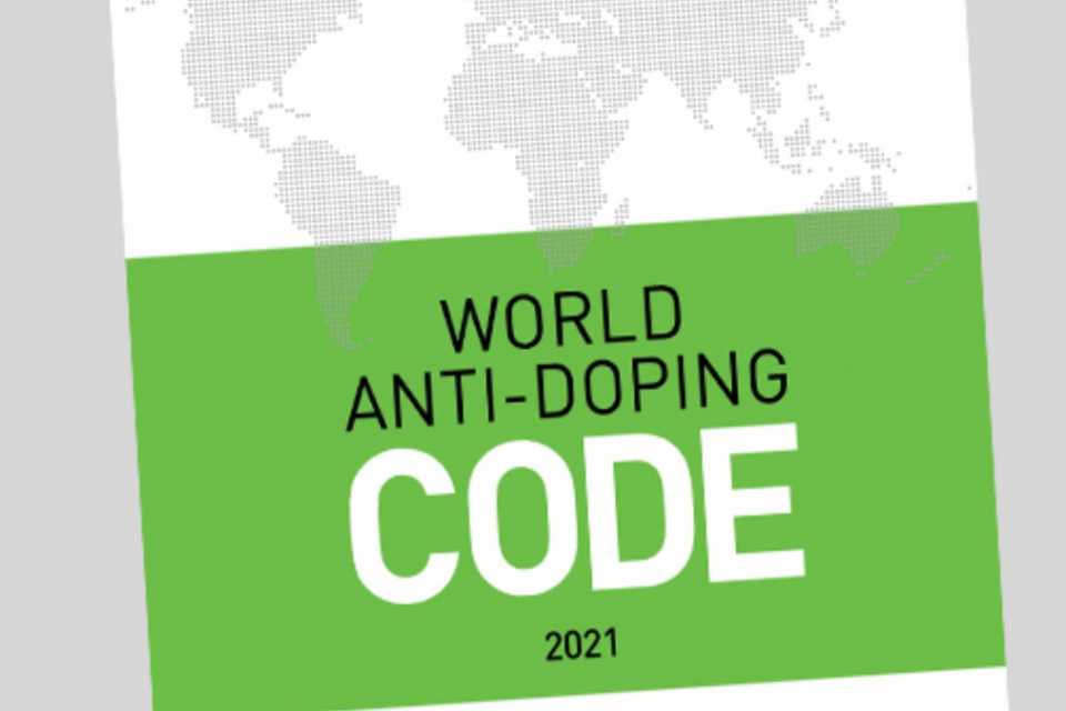 WADA publishes approved 2021 World Anti-Doping Code