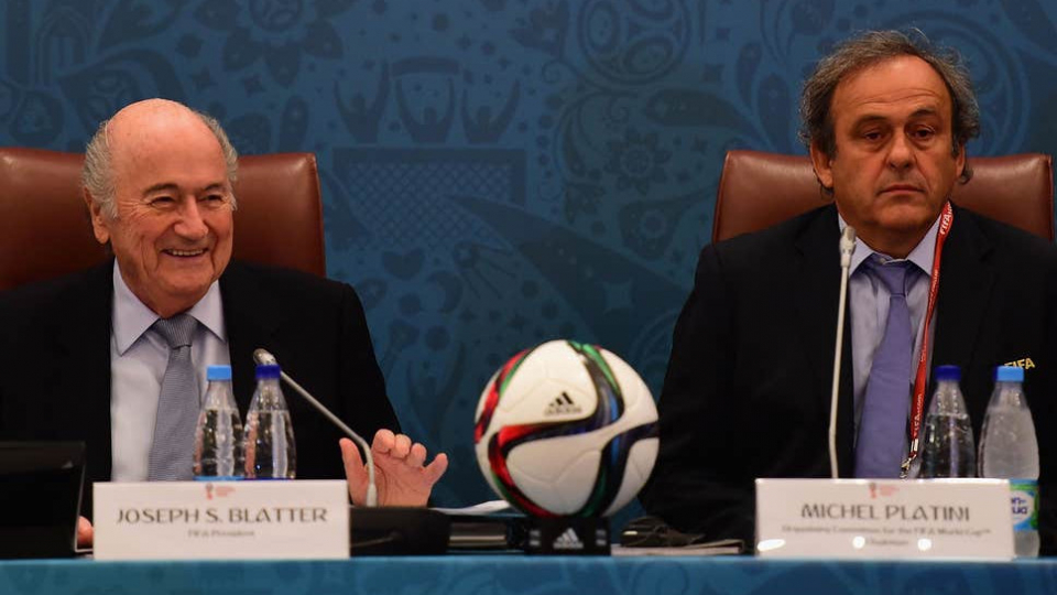 FIFA launches legal action against Sepp Blatter and Michel Platini