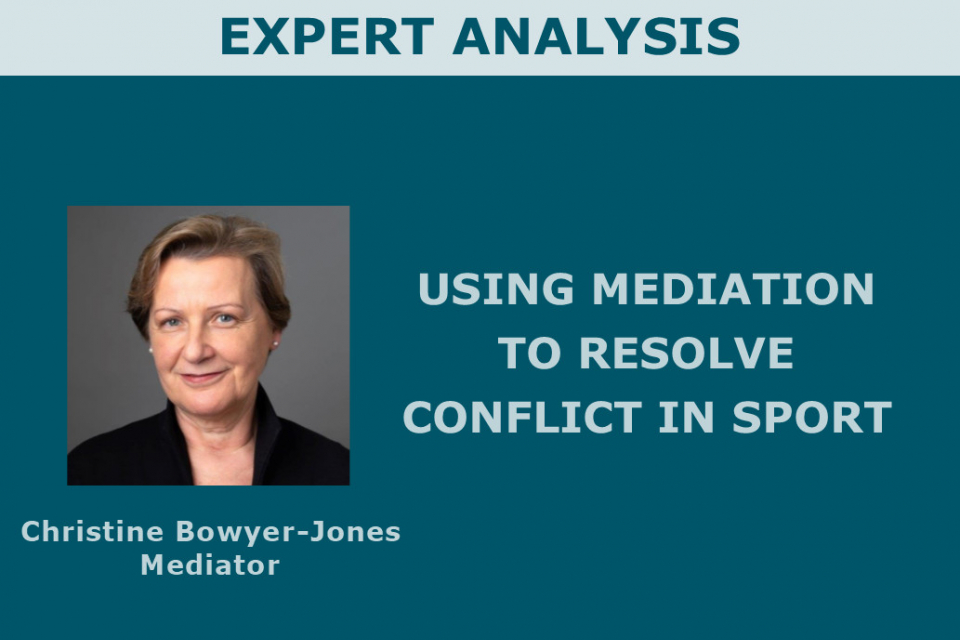 Using mediation to resolve conflict in sport