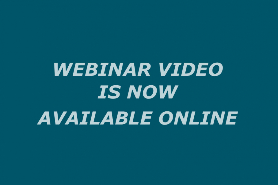 """State Aid in Sport and Covid-19"" Webinar Video is Now Available Online"