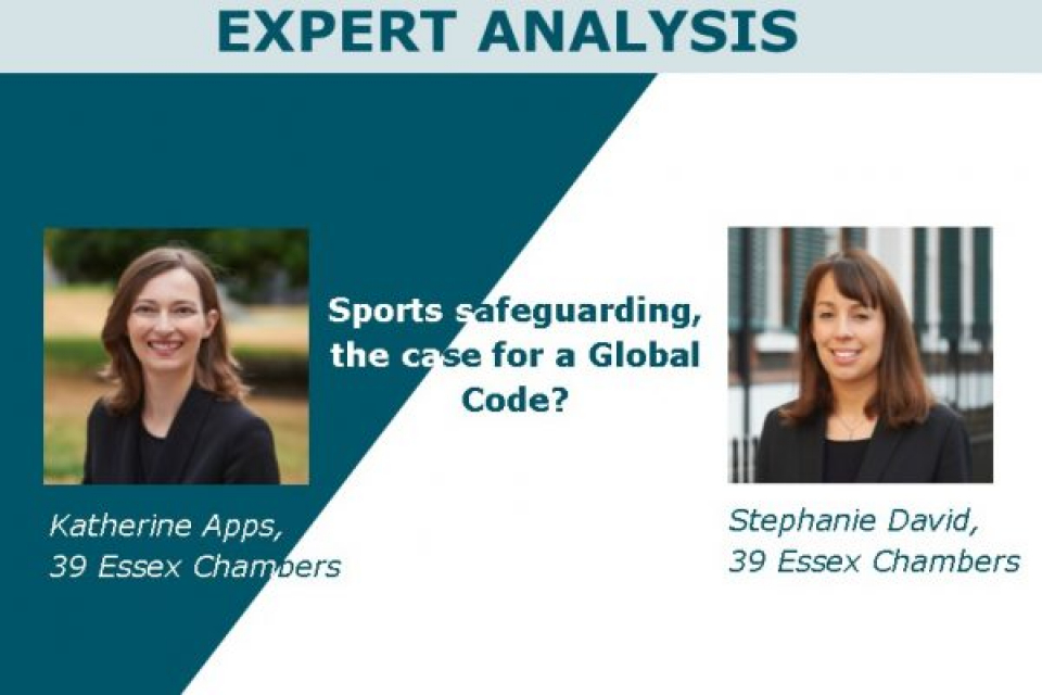 Sports safeguarding, the case for a Global Code?