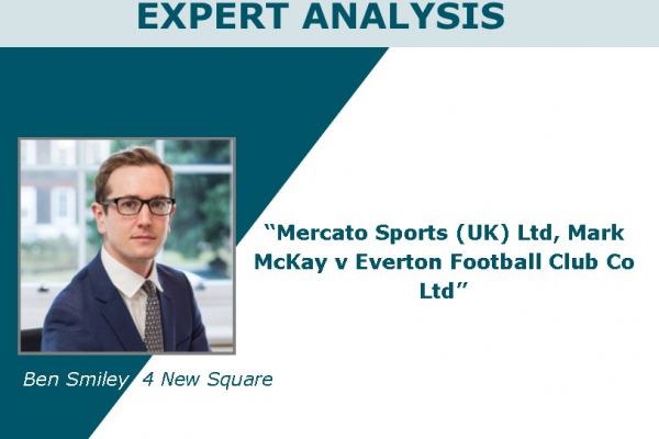 Mercato Sports (UK) Ltd, Mark McKay v Everton Football Club Co Ltd [2018] EWHC 1567