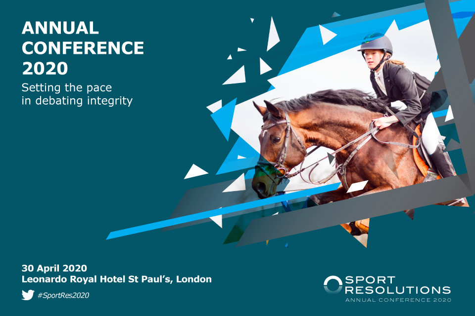 Sport Resolutions Annual Conference 2020 Early Bird Tickets On Sale Now!